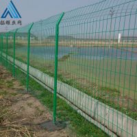 圈地铁丝网围挡,鱼塘围栏