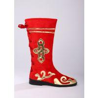 少数民族蒙古/藏族/现代舞蹈表演/舞台演出舞蹈鞋-靴男女长筒靴