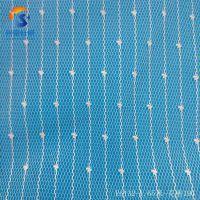 专业生产条纹点点布,批发包装印花满天星点点布料,经编针织提花