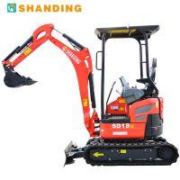 辽宁朝阳便宜的无尾小型挖掘机先进的微型挖机 小挖土机