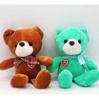 可爱小熊本熊短毛绒玩具来图来样定制吉祥物玩偶创意玩具免费设计