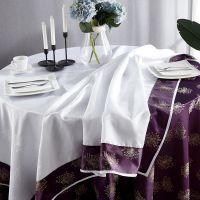 君康传奇供应双层桌布布艺圆形茶几长方形欧式餐桌布