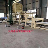 机制砂浆岩棉复合板设备 外墙岩棉板复合设备生产线