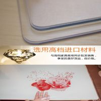 进口PVC软玻璃水晶板 透明塑料茶几餐桌垫 磨砂防水防油防烫桌布