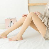 春秋女士瘦腿大码美腿塑形加肥加大锦纶打底连裤袜