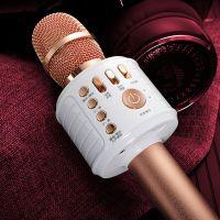 全民K歌神器手机麦克风通用无线蓝牙话题家用唱歌音响 喊话神器