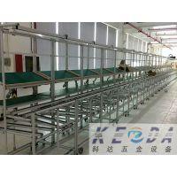 厂家直销定做检验操作台 工程测试台 深圳东莞 防静电单面工作台