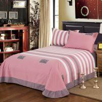 纯棉磨毛床单单件春秋加厚床上用品全棉布料被单子单双人加大床单