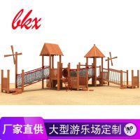 幼儿园大型攀爬网钻洞攀爬架游乐设施