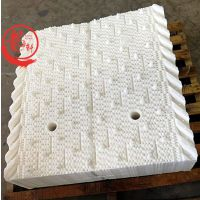 衡水定做非标尺寸良机填料白色带收水器良机填料厂家——河北龙轩