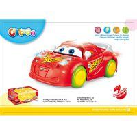 长期供应 电动万向 汽车总动员灯光音乐卡通车  地摊玩具