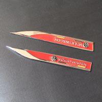 大众高尔夫6 7 新POLO改装标 R风刃标 GTI车标叶子板标 刀锋侧标