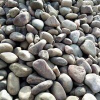 恒州供应天然杂色鹅卵石 铺路鹅卵石天然圆林石头 货源充足