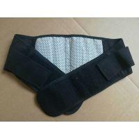钢板护腰托玛琳自发热护腰带钢板保暖磁疗发热腰围黑色