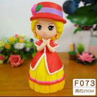 新款公主卡通模型 乳胶模具 石膏娃娃模具多少钱一套