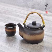 创意手绘茶具套装 日式功夫茶杯陶瓷水杯简约茶壶厂家批发