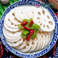 鲜莲藕片 特级冰冻 高维生素高营养低热量 脆甜菜藕 尚品莲皇出口产地批发供应