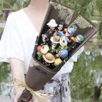 七夕礼物 海贼王动漫手办路飞公仔送男朋友生日礼物男生特别惊喜