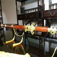 赞比亚血檀木上方宝剑木质工艺品摆挂件 镇宅利器 收藏精品