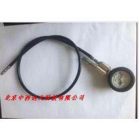 高压表减压器压力表(带报警哨及高压管) 型号:TB612-40MPA/400Bar库号:M40068