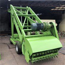 养殖设备青贮取料机 牛场装料扒草机 高空作业的取草机