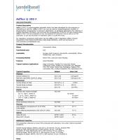 上海售Adflex Q 300 F BASELL TPO专为软膜挤出或压延开发或作抗冲击增韧剂改性剂