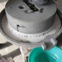 定制芝麻酱电动石磨机 仿古式早餐豆浆机 营养美味健康石磨磨浆机