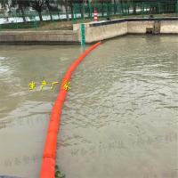升降式拦污漂塑料拦污浮排规格介绍