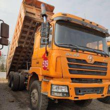 山西现有大量陕汽德龙工程后八轮自卸车转让340-380马力,5.8米大箱