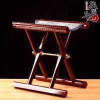 饰品 山东红木马扎实木工艺马札凳送老人礼品折叠便携靠背椅