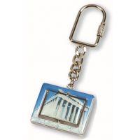 广告钥匙扣清新毛绒球精致挂链公主铁环毛绒球钥匙扣铁环彩色钥匙