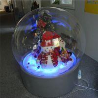 直径2米圣诞球厂家直销 亚克力圣诞节装饰球 星座球亚克力圆球