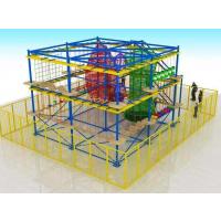 安徽奇缘游乐批发室内儿童游乐设备厂家弹性迷宫淘气堡哪个品牌好弹性网格乐园设计定制