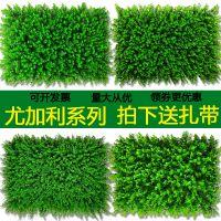 塑料仿真植物小优特密门头招牌超市水果垫子墙上装饰耐用背景绿植人造草坪