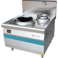 商用电磁单炒单温灶 西安巨尚 商用厨房设备