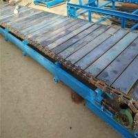 不锈钢链板输送机运输平稳 耐磨耐用链板输送机生产规格专业厂家宁波