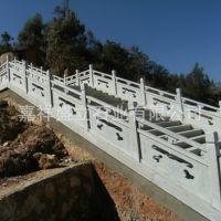 嘉祥厂家批发石雕栏板 公园小区小桥栏杆 白色大理石护栏