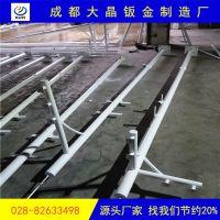 南充天网杆生产厂家/四川3米4米5米6米监控立杆定制-成都大晶