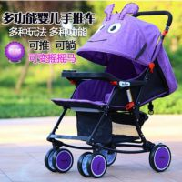 婴儿推车儿童超轻可坐可躺可摇椅功能简易折叠小婴儿车四轮伞车