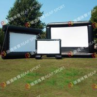 瑞浦设计不同款式大小形状 充气电影屏幕 为您量身定制喜爱款式