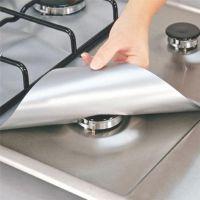 跨境专供家居用品27*27cm煤气灶保护垫燃气灶配件厨房工具