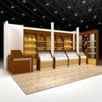 供西宁化妆品展柜和青海烤漆展柜厂家
