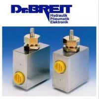 原装进口德国DR.BREIT液控单向阀405040.006 DN40 PN320