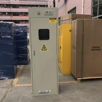 深圳振兴辉全钢智能带报警单瓶双瓶三瓶气瓶柜实验室氢气氧气液化气安全存储柜