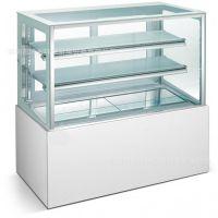 日式直角蛋糕柜圆孤蛋糕柜水果冷饮设备西点面包展示柜慕斯冷藏柜