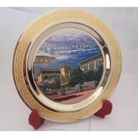 北京哪里定做金属锡盘 纯铜纪念盘制作、北京奖盘生产工厂