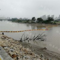 水浮莲拦污浮桥河道浮式拦污排设施