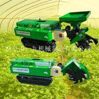 省油節約的履帶旋耕機 可配備多種配件的旋耕機 履帶式開溝施肥機