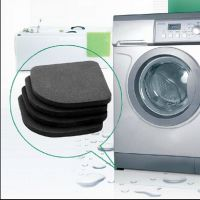 日本KM洗衣机防震垫电器减震垫 桌脚椅脚垫 家具保护垫 4个装