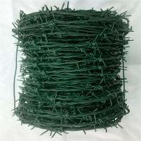 绿皮铁线 铁丝刺线 圈地毛铁刺